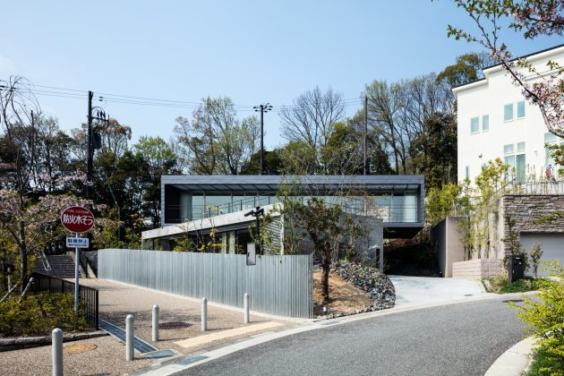 Axis House by T Square Design Associates in Kobe, Japan