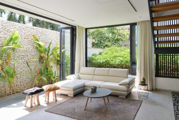 Eden Villa by XYZ Architects in Ho Chi Minh City, Vietnam