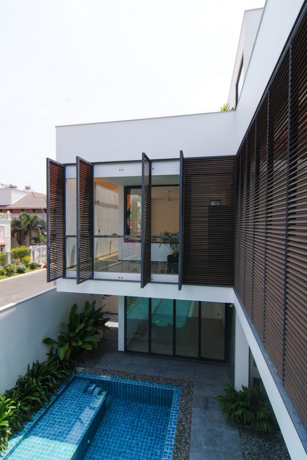 Eden Villa by XYZ Architects in Ho Chi Minh City, Vietnam