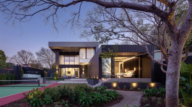 J House by Wolf Architects in Toorak, Melbourne