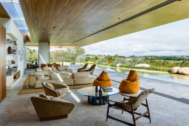MS House by Studio Arthur Casas in Fazenda Boa Vista, Brazil