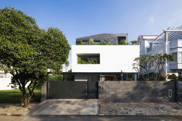 White Cube House by MM++ Architects in Ho Chi Minh City, Vietnam