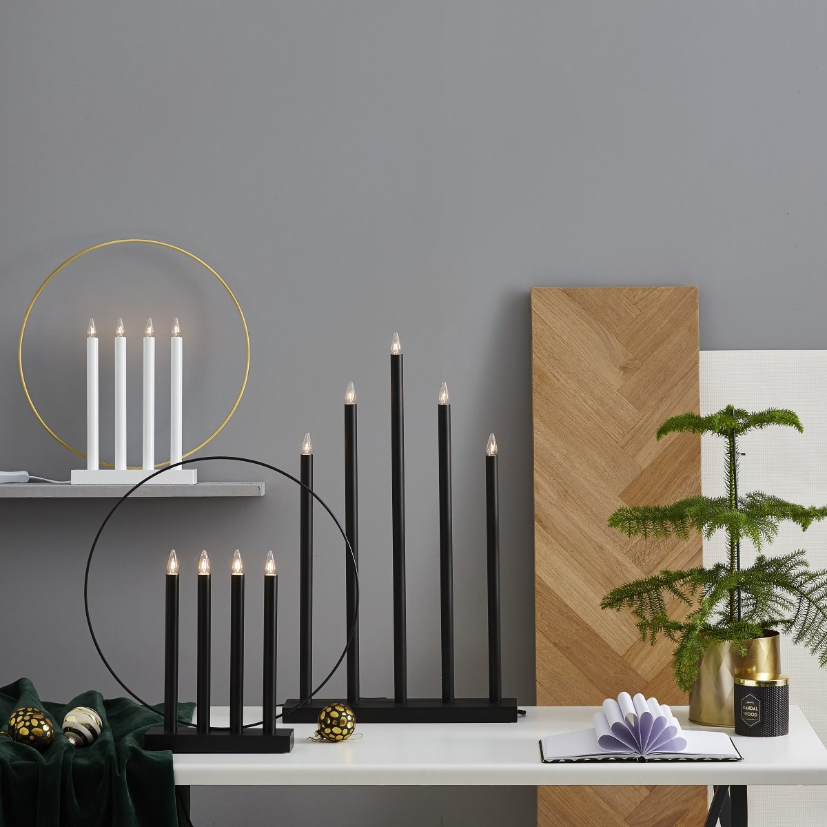 candlesticks and candle holders for advent and christmas. Black Bedroom Furniture Sets. Home Design Ideas