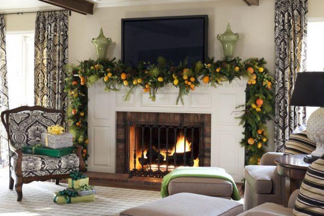 9 Stunning Christmas Mantel Decor Ideas