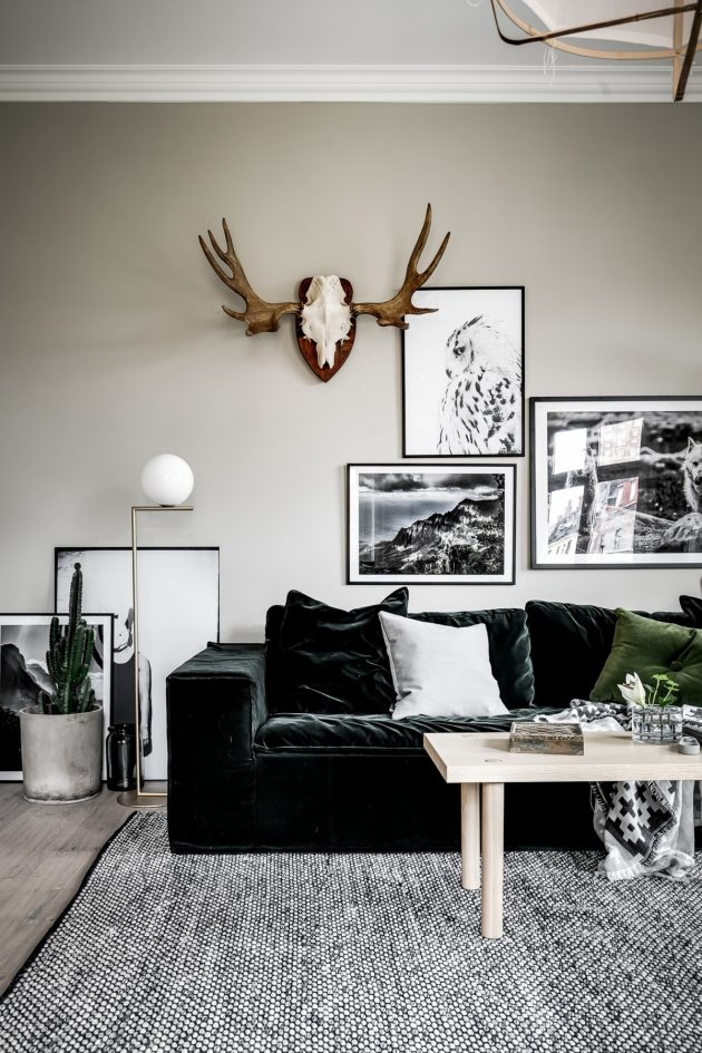Decor Trend 2020 Contrasts In Deep Green