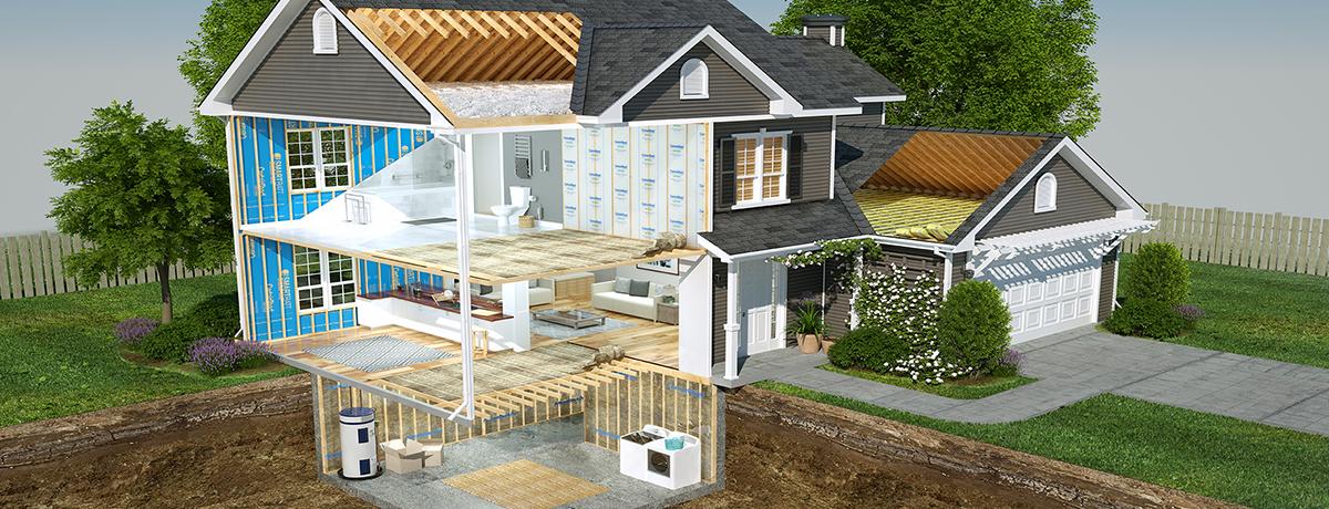 5 преимуществ утепления снаружи вашего дома