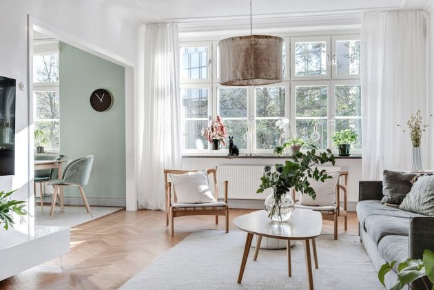 Harmonic Mint Color Dinning Room and Soft Earthy Tones for the Home of Your Dreams