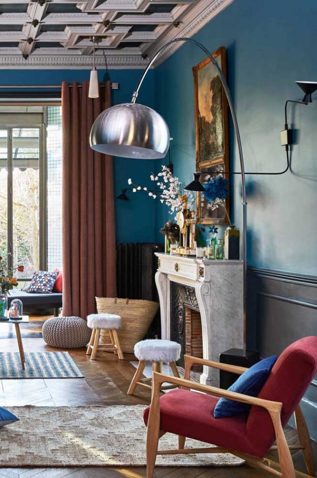 How to Match a Red Chair in Your Living Room + Inspiring Ideas