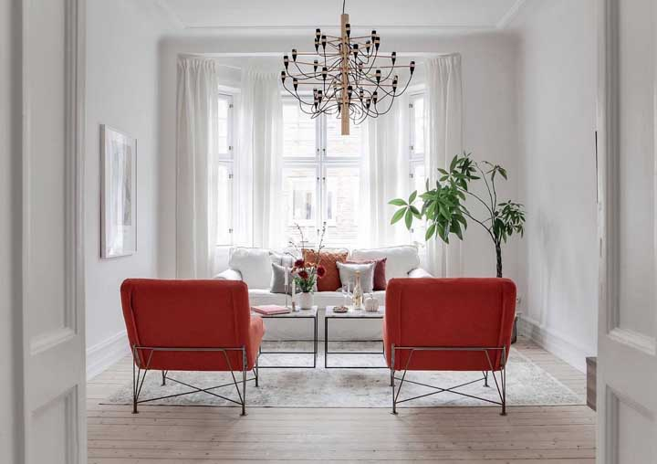 How To Match A Red Chair In Your Living, Red Accent Chair Living Room