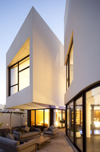 MOP House by AGi Architects in Kuwait City, Kuwait