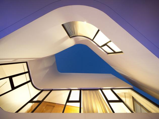 MOP House by AGi Architects in Kuwait City, Kuwait