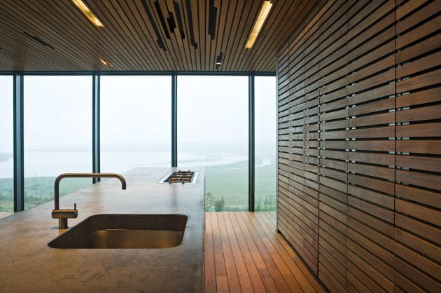 Árborg House by PK Arkitektar In The Landscapes of Iceland