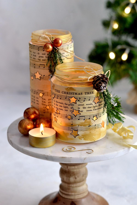 15 Adorable DIY Christmas Luminaries You Must Craft
