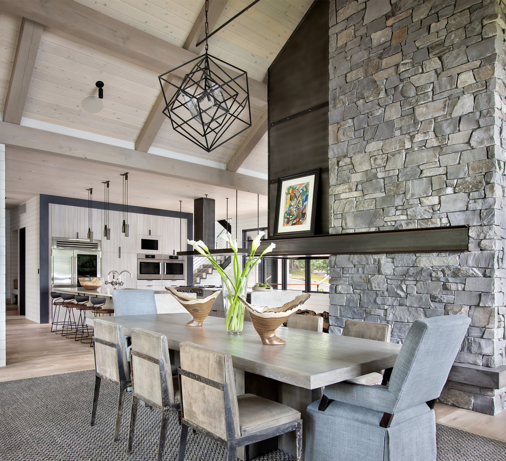 12 Rustic Dining Room Ideas: 15 Astonishing Rustic Dining Room Designs You'll Love