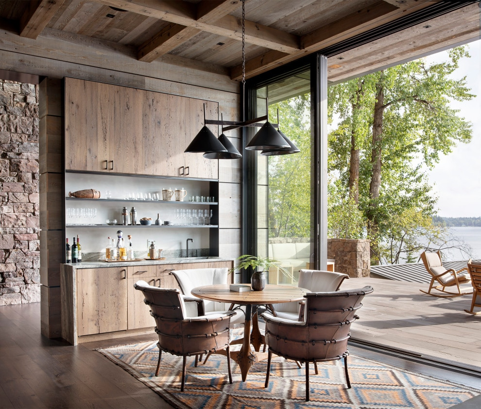 15 Astonishing Rustic Dining Room Designs You'll Love