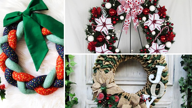 15 Engaging Christmas Wreath Designs That Will Happily Greet You