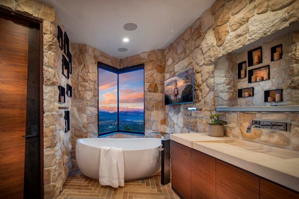 18 Amazing Rustic Bathroom Designs That You Must See
