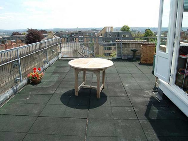 Do you have a flat roof goldmine?