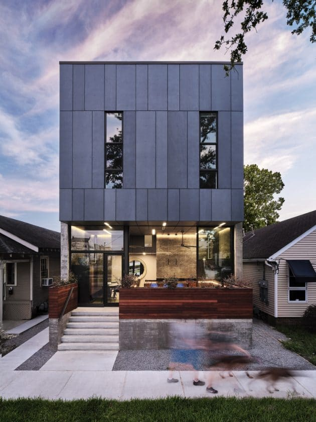 Bienville House by Nathan Fell Architecture in New Orleans, Louisiana