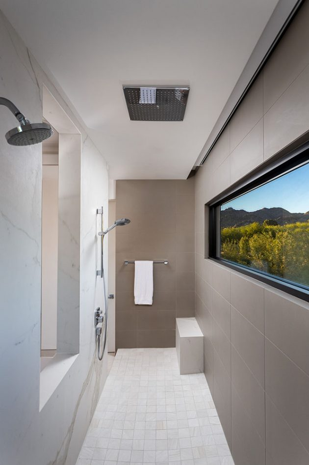 Bridge View Residence by Kendle Design Collaborative in Paradise Valley, AZ
