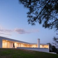 House in Lamego by Antonio Ildefonso Architect in Portugal