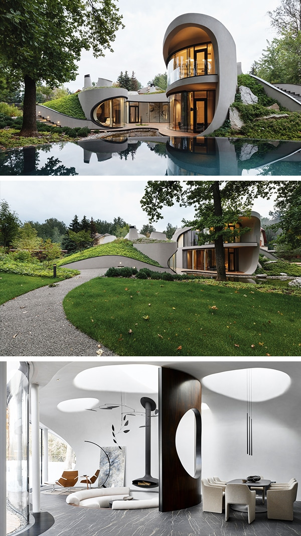 House in the landscape by niko architect near moscow russia - Architectural designers near me ...