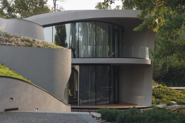 House in the Landscape by Niko Architect near Moscow, Russia