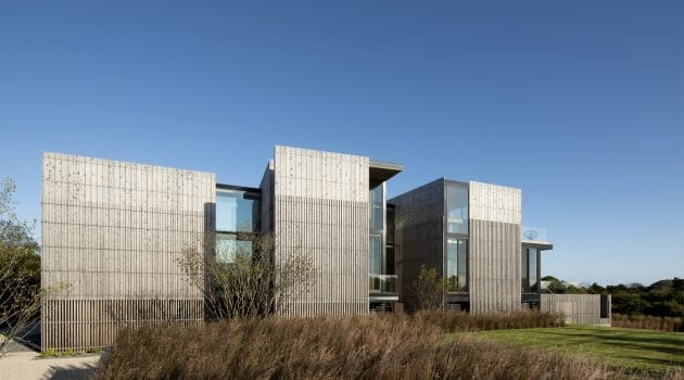 Kiht'han House by Bates Masi + Architects in Sagaponack, New York