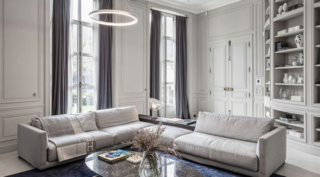 Modern Meets Traditional in This Paris Home