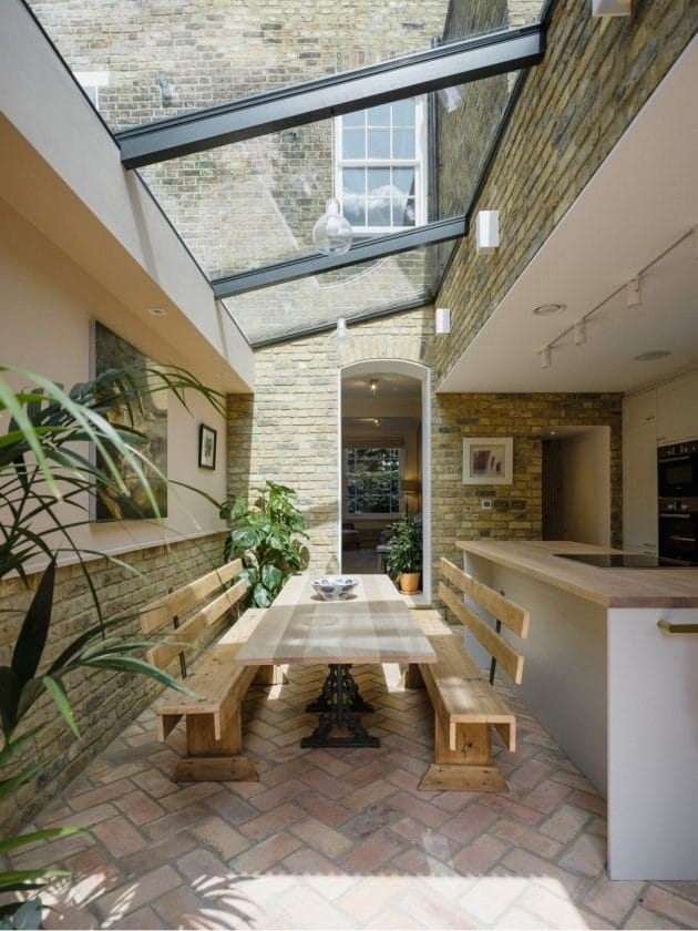 Victorian House Renovation by Neil Dusheiko Architects in North London