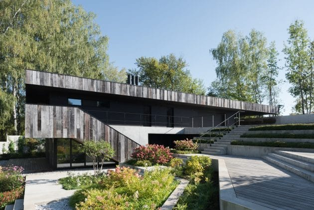 Villa TX House by ZUN Architecture and Design in Moscow, Russia