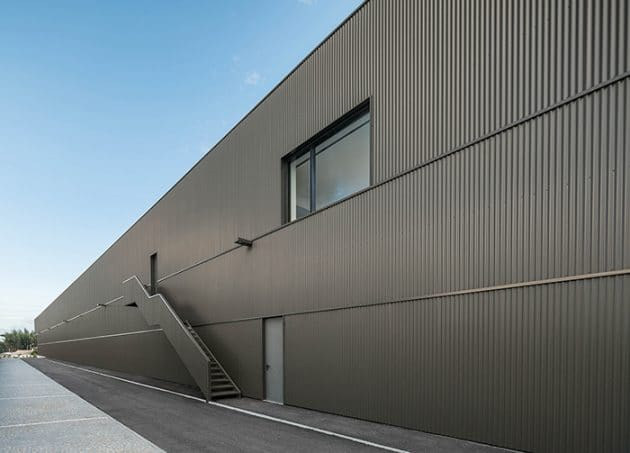 Vouga Project Industrial Building by Nu.ma Architects in Portugal