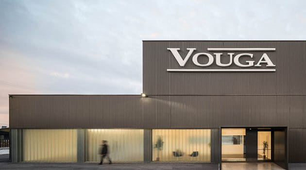 Vouga Project – Industrial Building by Nu.ma Architects in Portugal
