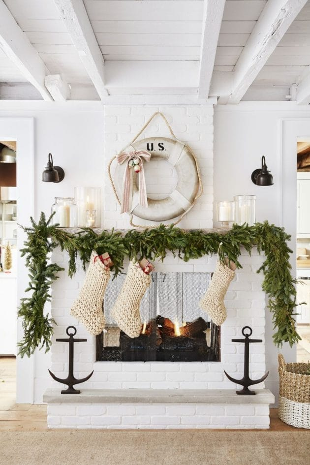 Cozy Coastal Christmas In Long Island, New York