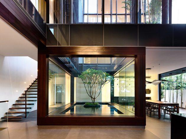 Water Mirror in Architecture & Decoration