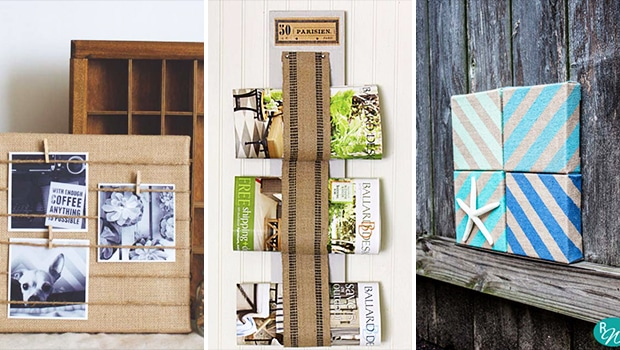 15 Chic DIY Projects You Can Craft With The Good Ol' Burlap