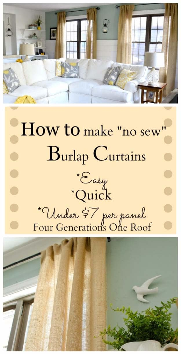 15 Chic DIY Projects You Can Craft With The Good Ol Burlap