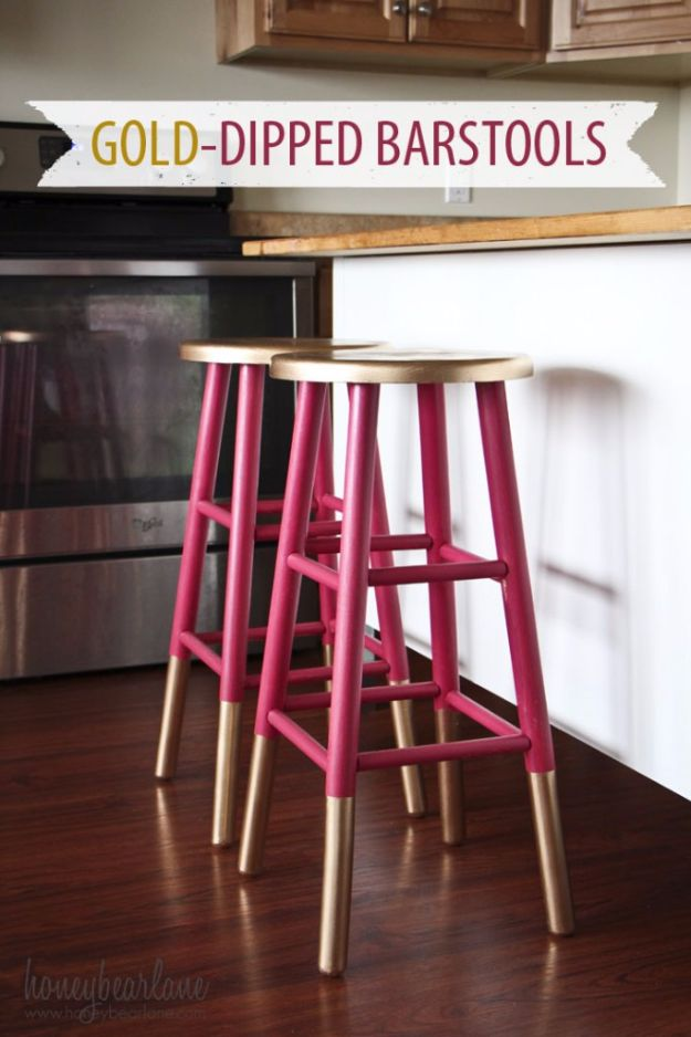 15 Stylish DIY Bar Stools To Add To Your Home Bar