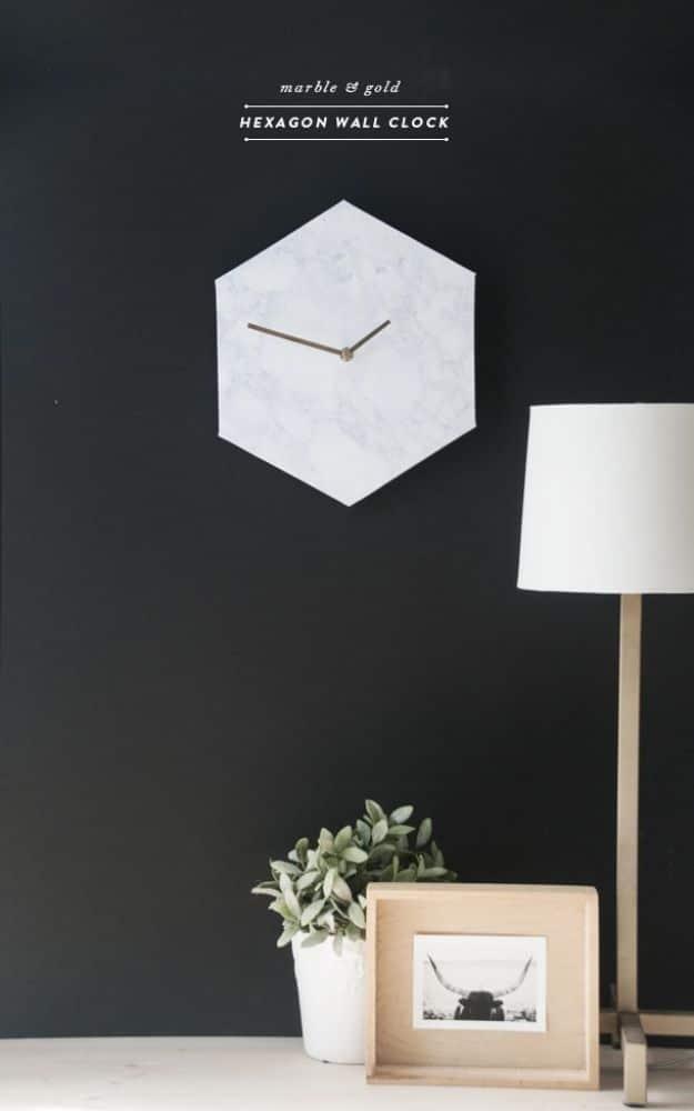 15 Super Cool DIY Clock Ideas That Make A Statement