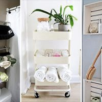 15 Surprisingly Useful DIY Bathroom Organization & Decor Ideas
