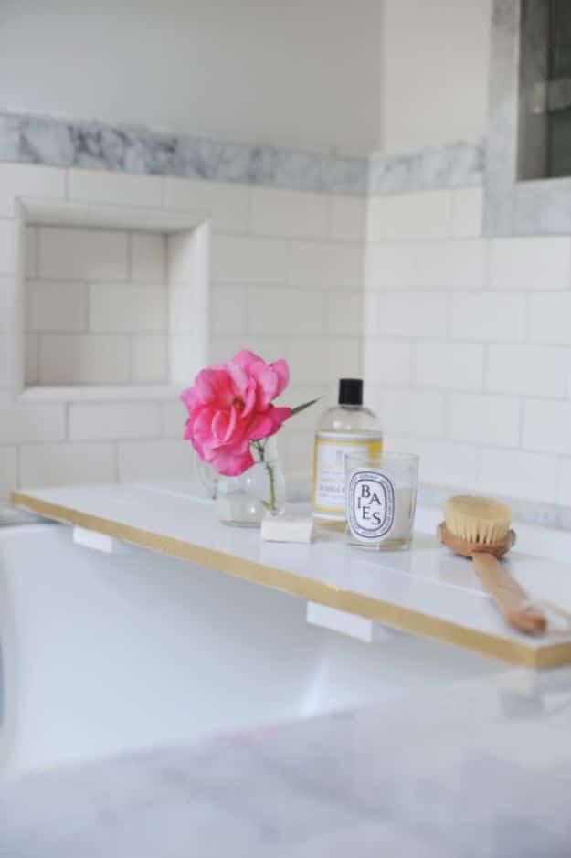 15 Surprisingly Useful DIY Bathroom Organization & Decor Ideas
