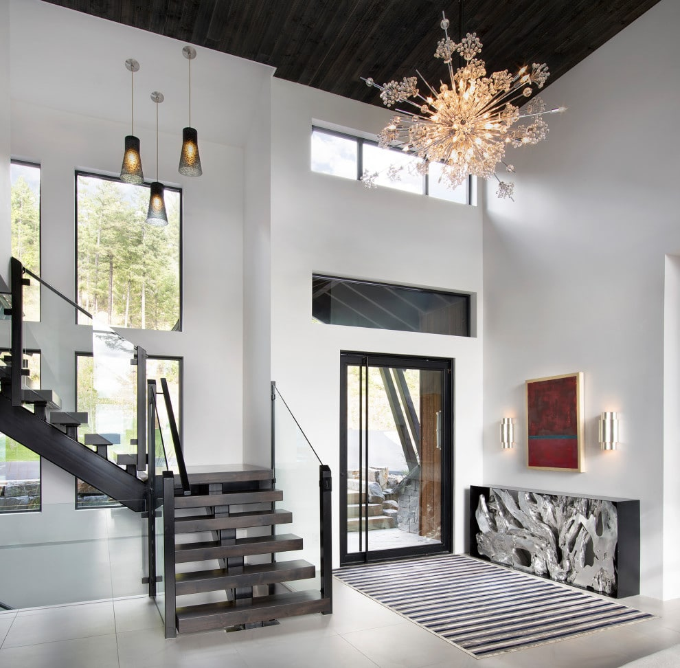 16 Beautiful Rustic Entry Hall Designs That Will Welcome You Nicely