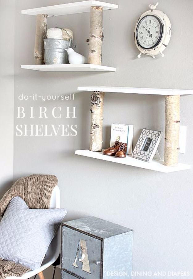16 Functionally Creative Diy Shelving Ideas You Won T Want