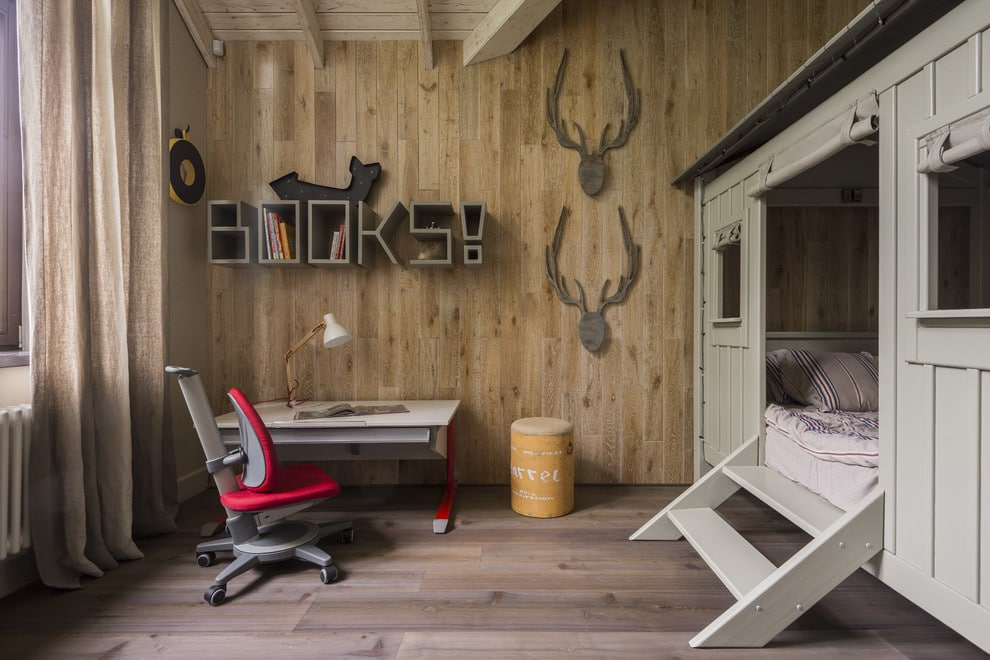 16 Wonderful Rustic Kids' Room Designs For Your Mountain Cabin