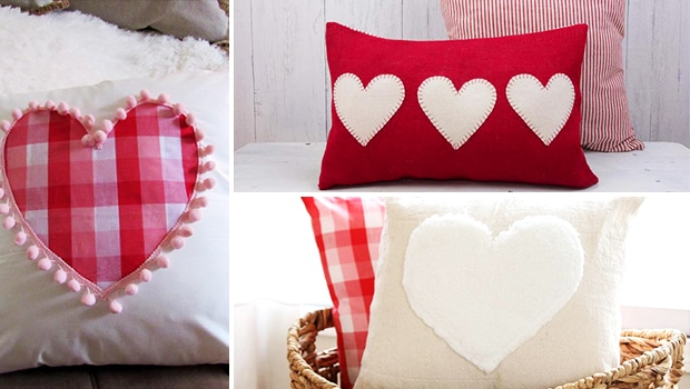 17 Adorable Valentine's Day Pillow And Cover Designs To Gift