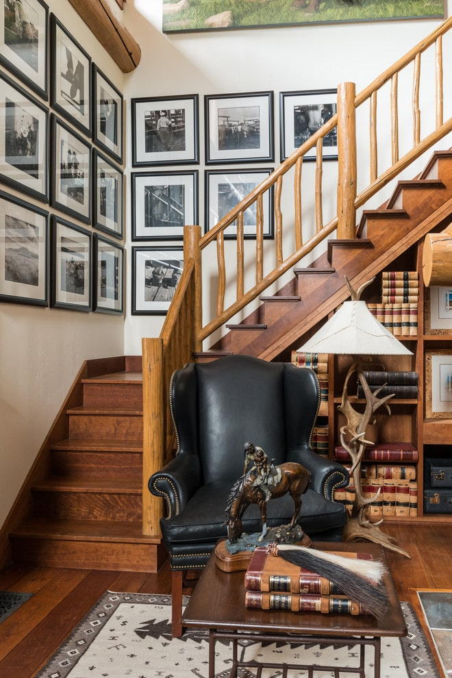 18 Cozy Rustic Staircase Designs That You'll Want In Your Mountain Home