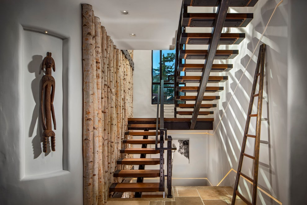 18 Cozy Rustic Staircase Designs That Youll Want In Your Mountain Home