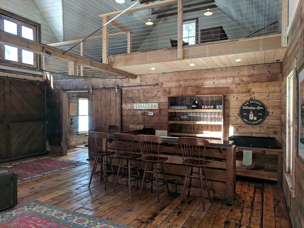 18 Marvelous Rustic Home Bar Ideas For Pure Enjoyment
