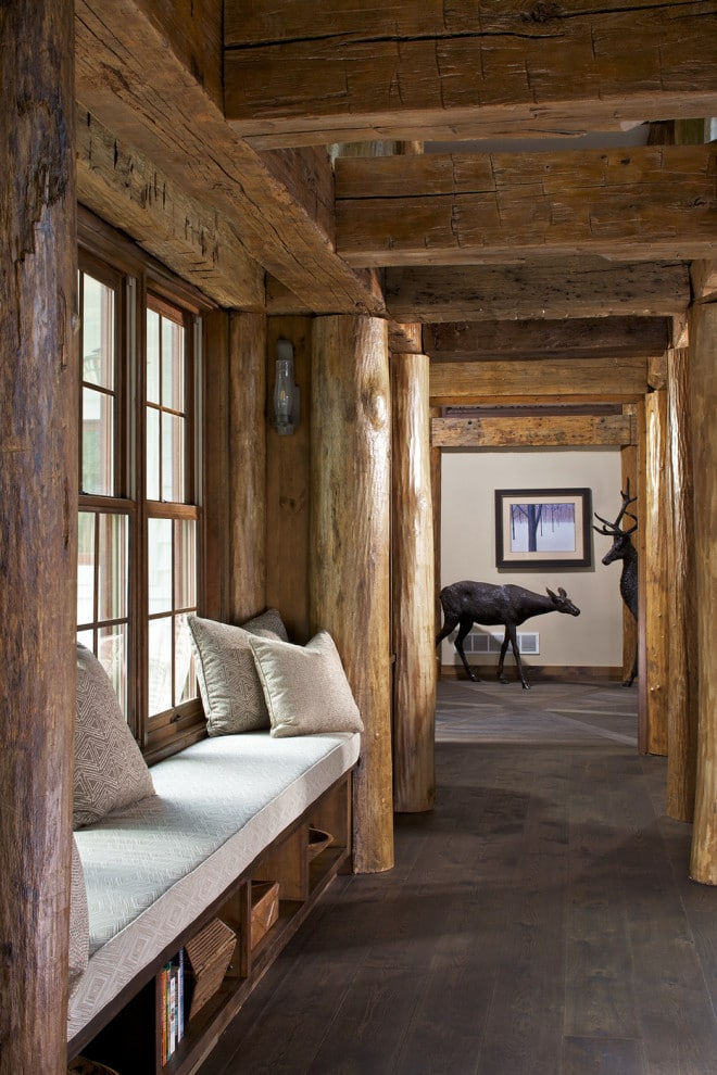 18 Spectacular Rustic Hallway Designs That Will Thrill You