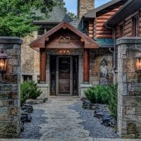 20 Embracing Rustic Entrance Designs You Wouldn't Be Able To Resist